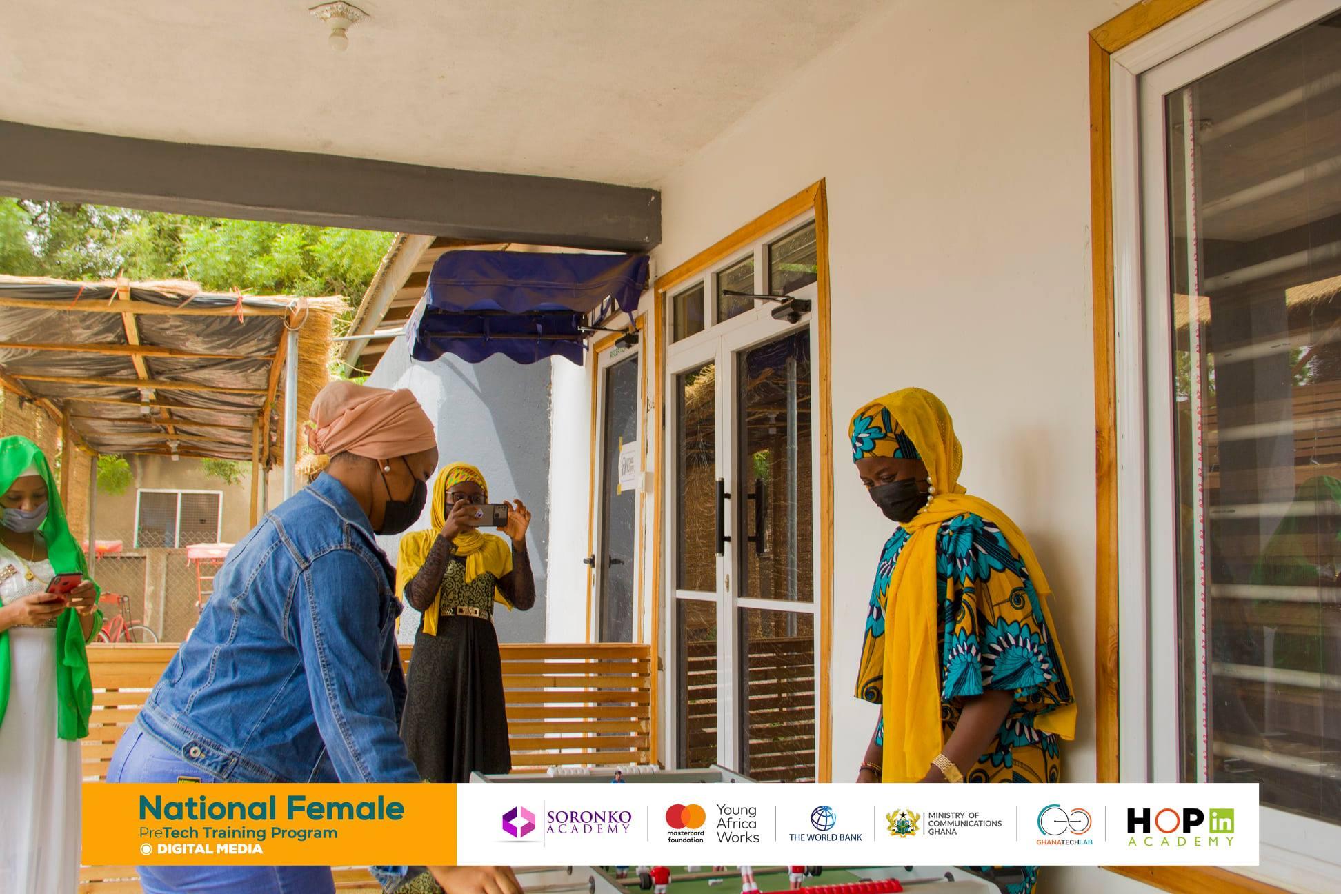 30 Ladies Trained on Digital Media in Tamale